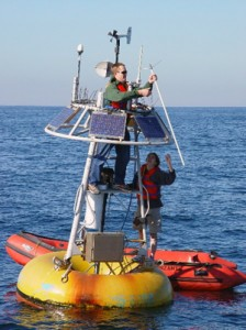 Servicing the Santa Monica Bay Observatory mooring's antenna
